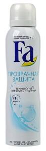 Дезодорант Фа прозрачная защита