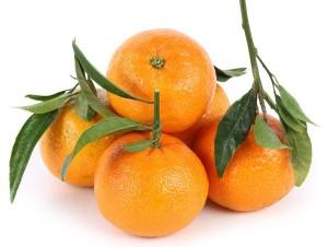 мандарины с листиком