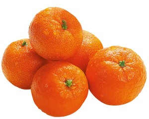 мандарины без фона